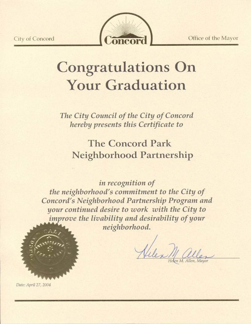 City of Concord
